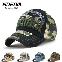 Camouflage hat New Baseball Cap 3D Embroidery design fashion men Flat Navy blue caps For women