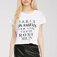 Cities Graphic Boxy Tee