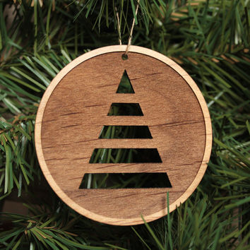 Unique Christmas Tree Ornaments - Round Christmas Ornament