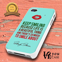 Marilyn Monroe Quote  for iphone, ipod, samsung galaxy, HTC and Nexus Case