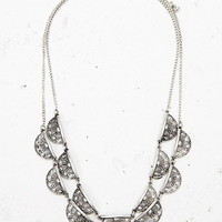 Etched Charm Necklace