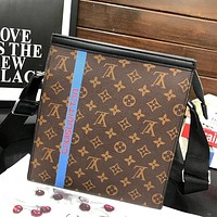 Free shipping: LV 2020 Classic Vintage Presbyopia Clutch Toiletry Bag