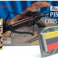 Pistol Crossbow / 50 lb. with Extra Bolts and String