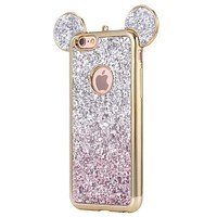 Mickey Mouse Glitter Phone Case