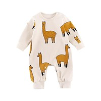 Baby Cute Animal Romper Boy Girls Jumpsuit Outfits Long Sleeve Clothes Infant Unisex Babies One-pieces born Kids Clothing