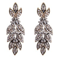 Kennedy- Crystal Rhinestone Drop Earrings
