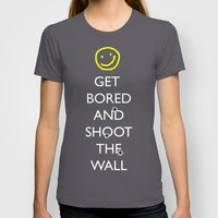 Smiley target T-shirt by MadTee