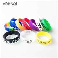 Electronic Cigarette Anti-slip Ring Silicon Finger Ring Colorful Vape Band Covering Rubber Ring For E Sigara RDA Atomizer Tank