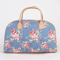 Chambray Floral Duffle Bag 211815800   Luggage   Tillys.com