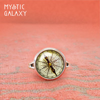 Compass Adjustable Ring, Compass Ring