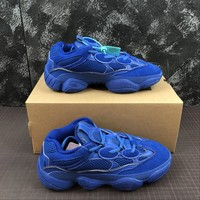 Adidas Yeezy 500 Desert Rat Blue Sneakers - Best Online Sale