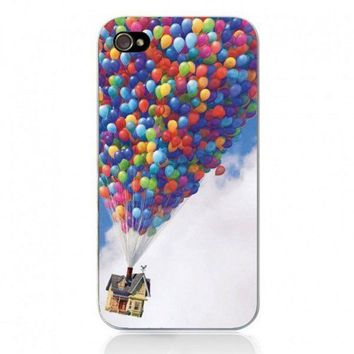 Movie Theme Collection Case for iPhone 4/4S - UP Balloon