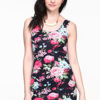 Floral Blossom Tank Dress - LoveCulture