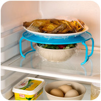 Multifunction Microwave Steaming Rack Layered Dish Tray Double-insulated Bowls Storage Shelf Tray