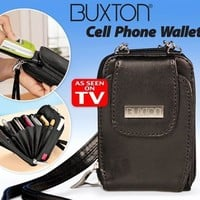 Genuine Leather Cell Phone Wallet - As seen on TV