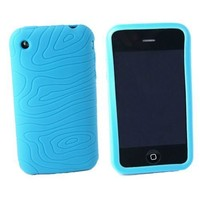 Apple iPhone 3G 3Gs 8GB 16GB 32GB Textured Silicone Skin Case Cover