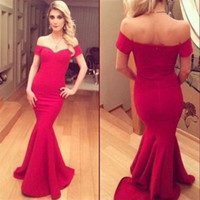 New Sexy Lady Short Sleeve Prom Ball Cocktail Party Dress Formal  Gown