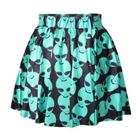 Psychedelic Alien Skirt sold out pre order, ships 1-21