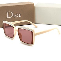 DIOR Fashion Women Men Sun Shades Eyeglasses Glasses Sunglasses
