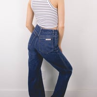 Vintage (Size Small) 70s Calvin Klein High Waisted Denim Jeans