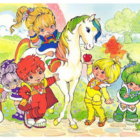 Rainbow Brite and the Color Kids Poster 11x17