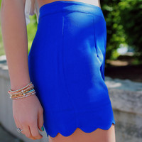 Sweet Summertime Shorts - Royal