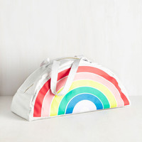 Rainbow Road Trip Cooler Bag | Mod Retro Vintage Decor Accessories | ModCloth.com