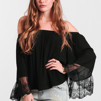 Spellbound Off-Shoulder Top
