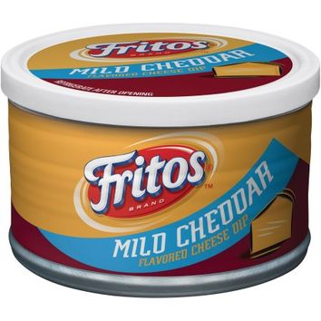 Fritos Mild Cheddar Flavored Cheese Dip, 9 oz - Walmart.com