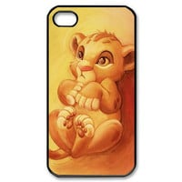Simba is born Lion King  Cell Phones Cover Cases for iPhone 4/4s/5/5s/5c/6/6s/6plus/6s plus hwd