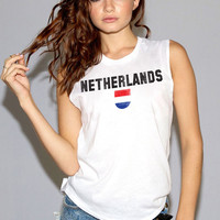 Netherlands World Cup Muscle Tee