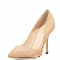 Nancy Gonzalez Holly Crocodile 90mm Pump