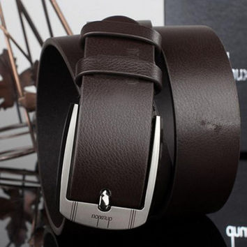 Metal Buckle Leather Waistband Vintage Belts - 2 Colors