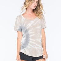 Neff X Woodstock Days And Nights Womens Tee Taupe  In Sizes