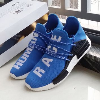 """""""Adidas"""" NMD Human Race Blue Leisure Running Sports Shoes"""