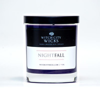 Nightfall handmade soy men's candle Groomsmen Gift / Men's gift idea