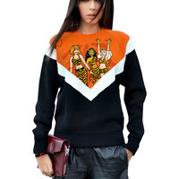 Josie And The Pussycats Archie Color Block Sweatshirt