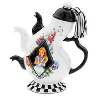disney parks alice in wonderland  teapot with 3 spouts new with tag