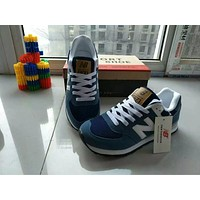 """New Balance"" Fashion Casual All-match N Words Breathable Couple Sneakers Shoes"