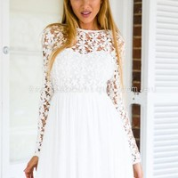 Splended Angel 2.0 Dress (White) | Xenia Boutique | Women's fashion for Less - Fast Shipping