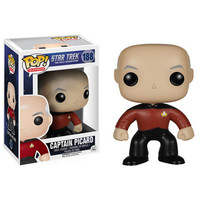 Funko POP! Television -Star Trek The Next Generation - Vinyl Figure- CAPTAIN PICARD (Pre-Order March: BBToyStore.com - Toys, Plush, Trading Cards, Action Figures & Games online retail store shop sale