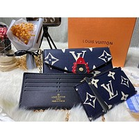 LV Fashionable printed small square bag with one shoulder crossbody bag lady