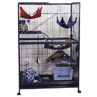 Ferret Mansion Cage - 37 in. x 24.25 in. x 56 in.