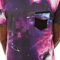 Entree The Teddy Galaxy Tee in Galaxy Purple : Karmaloop.com - Global Concrete Culture