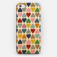 Diamond Hearts iPhone 5s case by Project M | Casetify