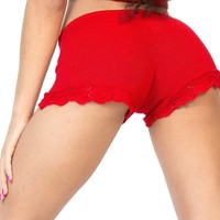 Sexy Lace Low Rise Twerk Shorts by KD dance New York Sexy Cozy & Fashionable Made In USA