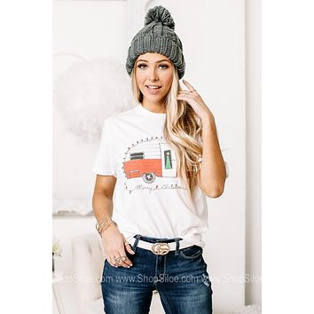 Merry Christmas Camper Graphic Tee