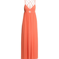 Long Chiffon Dress - from H&M