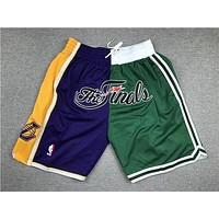 Just Don 2008 NBA Finals Boston Celtics x Los Angeles Lakers Short
