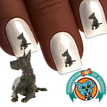 Great Dane Proud Nail Art Decals (Now! 50% more FREE)